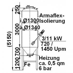mixing-tank-4000-litres-standing-drawing-3285
