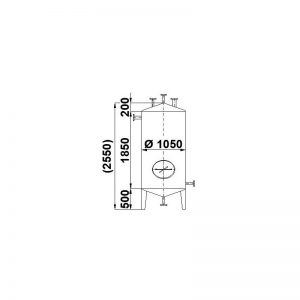 stainless-steel-tank-1700-litres-standing-drawing-3780