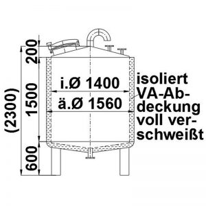 stainless-steel-tank-2400-litres-standing-drawing-3926