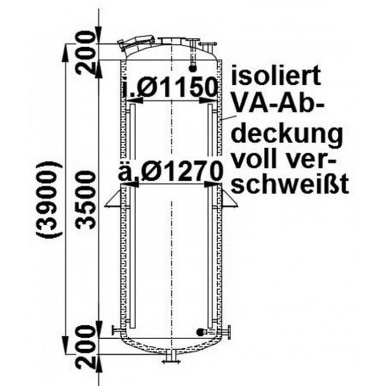 stainless-steel-tank-3850-litres-standing-drawing-3437