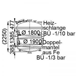 stainless-steel-tank-4000-litres-standing-drawing-3628
