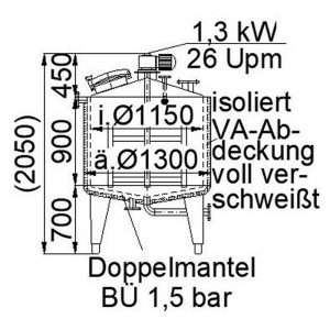 mixing-tank-1000-litres-standing-drawing-3730