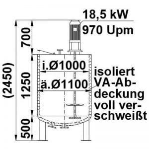 mixing-tank-1100-litres-standing-drawing-3756