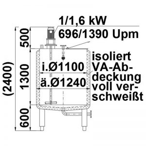 mixing-tank-1300-litres-standing-drawing-3923
