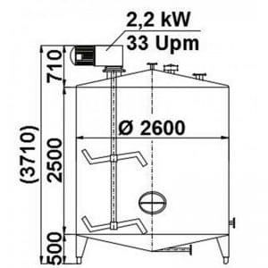 mixing-tank-1400-litres-standing-drawing-3760