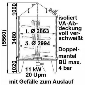 mixing-tank-2000-litres-standing-drawing-3880