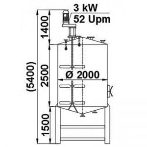 mixing-tank-7500-litres-standing-drawing-3836