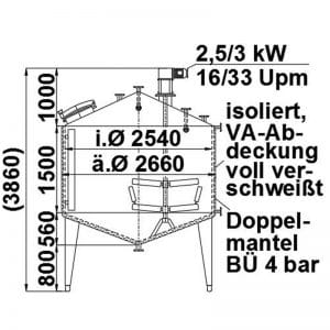mixing-tank-8000-litres-standing-drawing-3919