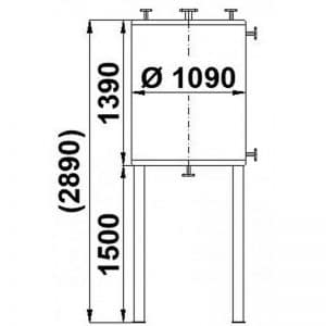 stainless-steel-tank-1300-litres-standing-drawing-3647