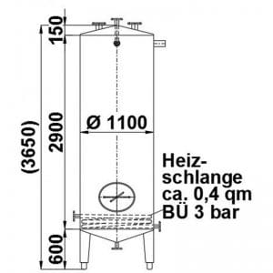 stainless-steel-tank-3000-litres-standing-drawing-3904