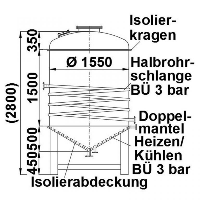 stainless-steel-tank-3000-litres-standing-drawing-3905