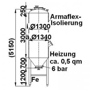 stainless-steel-tank-4000-litres-standing-drawing-3275
