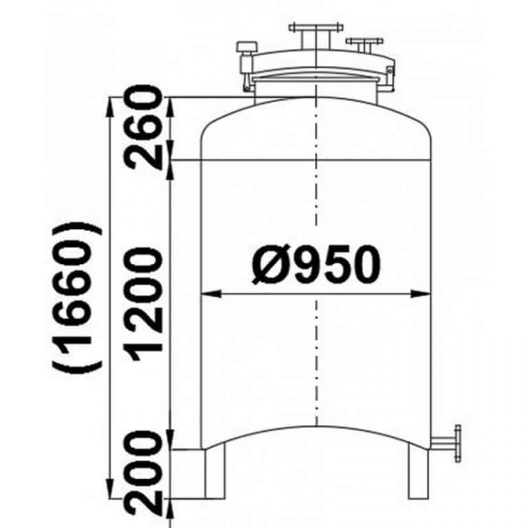 stainless-steel-tank-900-litres-standing-drawing-3924
