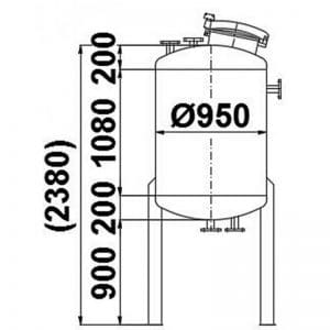 stainless-steel-tank-950-litres-standing-drawing-3689