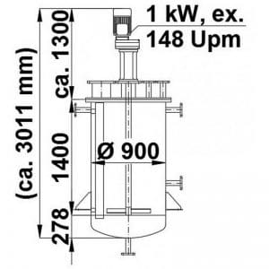 mixing-tank-1050-litres-standing-drawing-3642