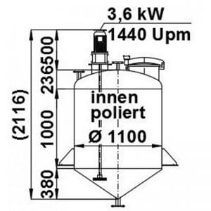 mixing-tank-1100-litres-standing-drawing-3738