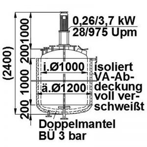 mixing-tank-1200-litres-standing-drawing-3499