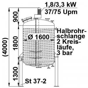 mixing-tank-4000-litres-standing-drawing-3561