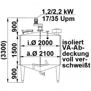 mixing-tank-5000-litres-standing-drawing-3574