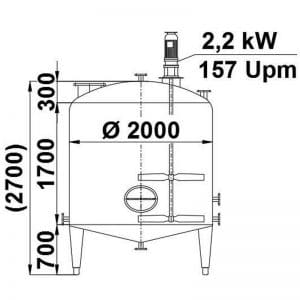 mixing-tank-6000-litres-standing-drawing-3355