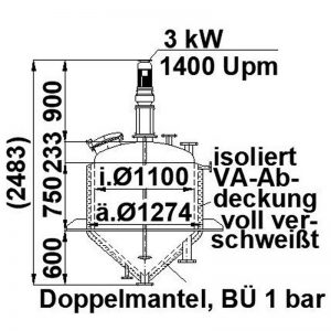 mixing-tank-900-litres-standing-drawing-3687