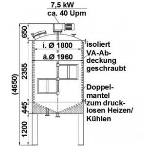 mixing-tank-7000-litres-standing-drawing-3978